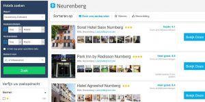 Hotels Neurenberg A3, A7 en A73 Duitsland