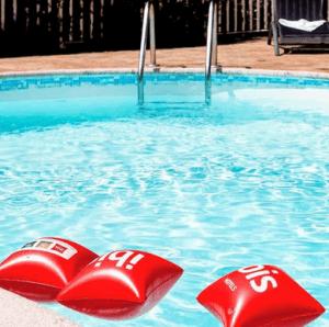 overnachtingshotel Ibis Lyon met zwembad