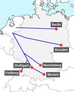 Snel Wegenkaart Duitsland