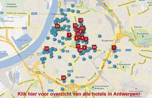 Hotel Antwerpen Belgie