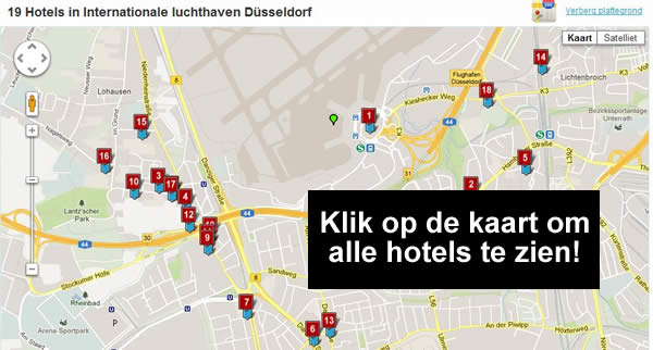 hotel vliegveld dusseldorf duitsland