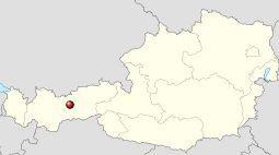 kaart Inssbruck Tirol Oostenrijk