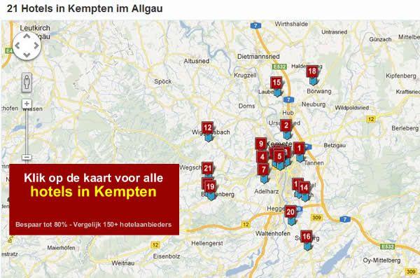 hotels in Kempten im Allgau, A7, Zuid Duitsland