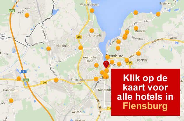hotels flensburg a7 noord duitsland