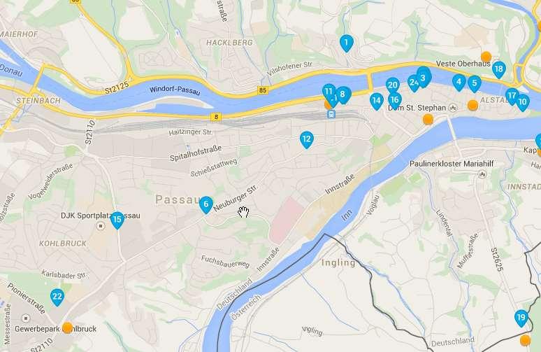 Overnachtingshotel Passau A3