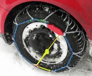 winterband met sneeuwketting