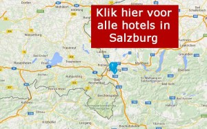 kaart met hotels in Salzburg